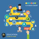 Education process concept Stock Image