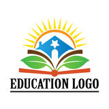 Education. The purpose of the education logo is used for school college and university sign and symbol Stock Photo