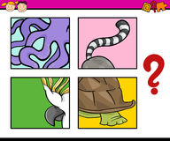 Education puzzle task for children Royalty Free Stock Photos
