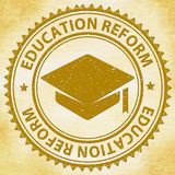 Education Reform Shows Make Better And Amended Royalty Free Stock Image