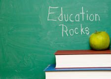 Education Rocks Royalty Free Stock Images
