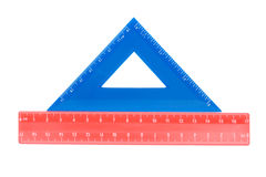 Education ruler close up Royalty Free Stock Photography