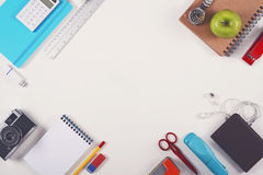 Education or school hero header. Education or back to school background hero header Stock Photo
