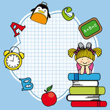 Education and school icon set Stock Photography