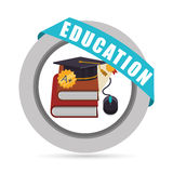 Education and school icons. Education concept with school icons design, vector illustration 10 eps graphic Stock Images