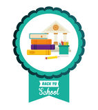 Education and school icons. Education concept with school icons design, vector illustration 10 eps graphic Royalty Free Stock Images