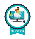 Education and school icons. Education concept with school icons design, vector illustration 10 eps graphic Stock Photos