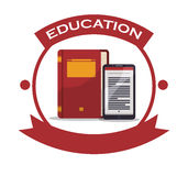 Education and school icons. Education concept with school icons design, vector illustration 10 eps graphic Stock Photo