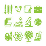 Education school symbol  collection Stock Photography