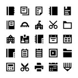 Education and School Vector Icons 4 Stock Images