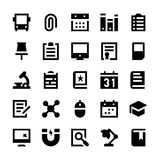 Education and School Vector Icons 2 Stock Photo
