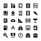 Education and School Vector Icons 1 Royalty Free Stock Photos