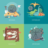 Education and science concept illustrations. Royalty Free Stock Photo