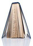 Education, science. Old book on white background Royalty Free Stock Photography