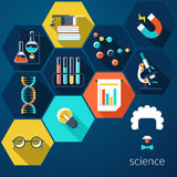 Education and Science vector illustration