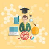 Education and science student university concept Stock Images
