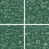 Education. Seamless  backgrounds Royalty Free Stock Photos