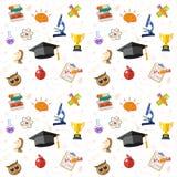 Education Seamless Pattern Stock Photos