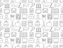 Education Seamless Pattern Stock Photo