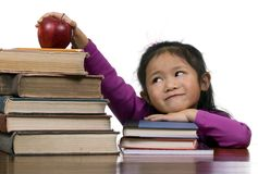 Education Series (old books new books) Stock Image