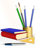 Education set Stock Images