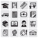 Education set Royalty Free Stock Photos