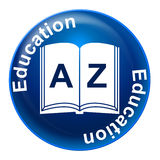 Education Sign Indicates Tutoring Development And Educated Stock Photos