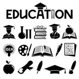 Education signs. Royalty Free Stock Image