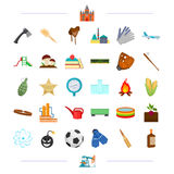 Education, sports, transportation and other web icon in cartoon style.agriculture, alcohol, travel icons in set. Education, sports, transportation and other Stock Photo