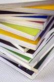 Education - Stack of well used college books Royalty Free Stock Photography