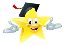 Education star man Stock Photo