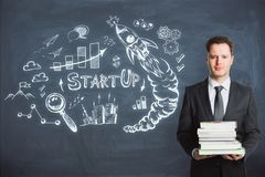 Education and startup concept Royalty Free Stock Images