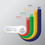 Education step banner infographic. Modern design number 4 step template can used for banner,infographic,data,presentation timeline business,chart, workflow vector illustration