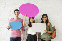 Education Students People Knowledge Concept.  Stock Images