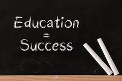 Education is Success Royalty Free Stock Photo