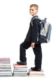 Education success graph. Back to school Stock Images