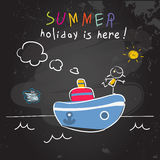 Education Summer vacation, children holiday Stock Photo