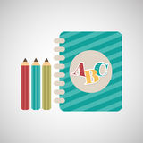 education supplies back to school Royalty Free Stock Images