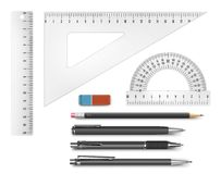 Education supply illustration Royalty Free Stock Photography