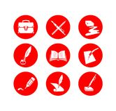 Education symbols Royalty Free Stock Photography