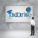 Education symbols Stock Photo