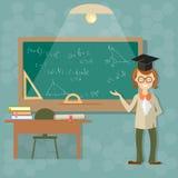 Education, teacher blackboard back to school Royalty Free Stock Photography