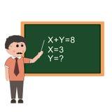 Education, teacher Royalty Free Stock Photography