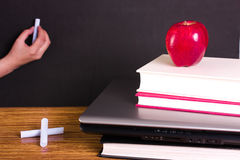 Education and technology. Concept of Education and technology Stock Photography
