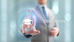 Education technology E-learning Online Training Webinar Seminar Knowledge Business Personal Development. Education technology E-learning Online Training Webinar stock photos