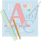 Education Theme Composition Stock Photo