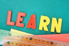 Education theme Royalty Free Stock Photo