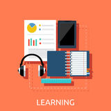 Education Tools Concept Royalty Free Stock Photos