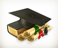 Education and Training icon Royalty Free Stock Photography