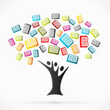 Education tree Royalty Free Stock Photography